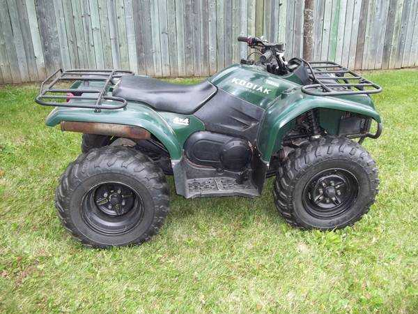 Used Yamaha Kodiak 400  2004  Utility  Prices  U0026 Deals